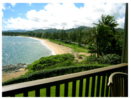 The view from your private lanai